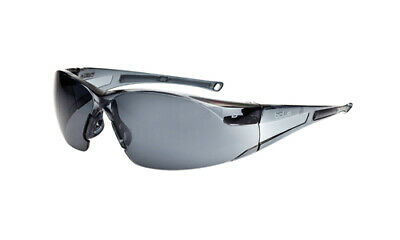 Bolle Rush Safety Glasses - RUSHPSF - Smoke Lens