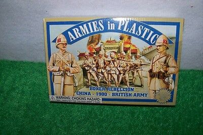 Armies in Plastic Boxer Rebellion China 1900 British Army  FREE SHIPPING !!!