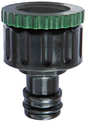"""Hozelock Quick Fit Threaded Outdoor Tap & Hose Connector  Adapter 3/4"""" & 1/2"""""""