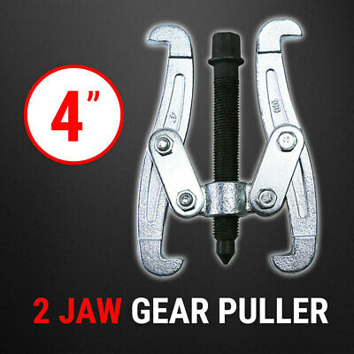 """Bearing Gear Puller 2 Jaw 4"""", Remover Drop Forged Reversible Jaws"""
