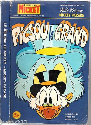 MICKEY PARADE n°1415 bis ~+~ EO 1979 ° PICSOU LE GRAND
