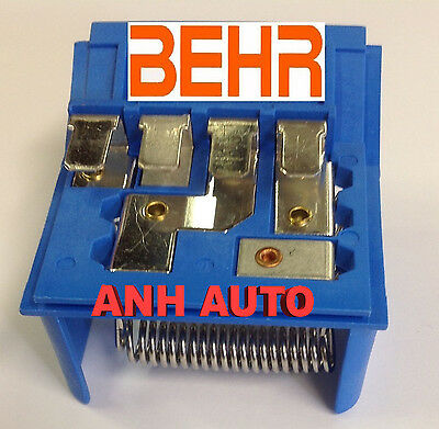 OEM Behr Brand  Blower Motor Resistor For BMW E30 E36   64111375755