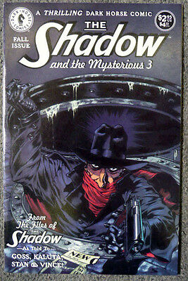 the shadow and the mysterious 3 stan et vince dark horse comics