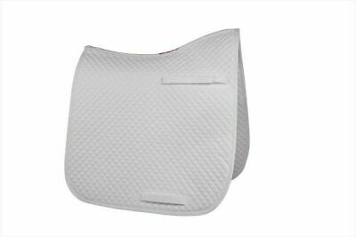 HyWITHER Competition Dressage Pad White - Cob/Full - Saddlecloth/Numnah