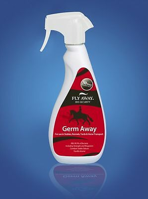 Fly Away Germ Away Disinfectant Spray 500ml - Horse/Pony Care