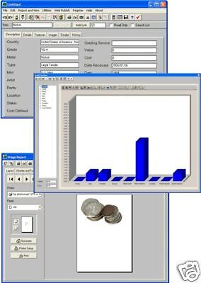 Easy Customizable Coin Money Currency Serial Number Collection Tracking Software