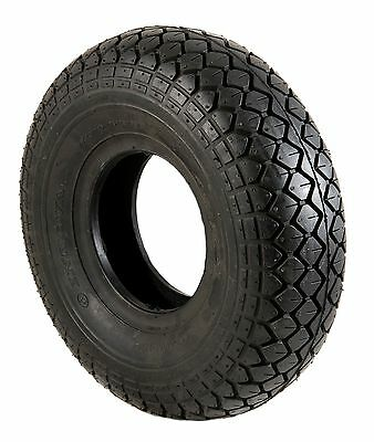 4 x New Mobility Scooter Tyre 330x100 4.00-5 Black  Diamond Tread VAT EXEMPT
