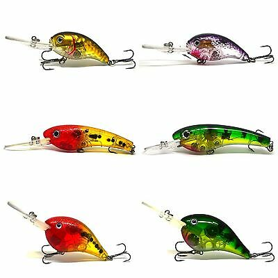 FLASHING LED Flash LIGHT Fishing Lure BAIT Deepwater Crank Bass Pike Casting NEW