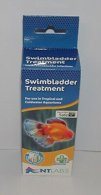NT LABS SWIMBLADDER TREATMENT 100ml For Tropical and Coldwater Aquariums
