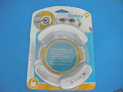 Safety 1st LEVER HANDLE LOCK~New in pkg~Keep Baby Safe & Out of Danger~