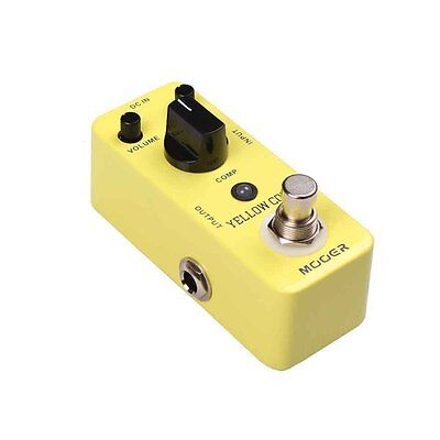 Mooer Micro Series Yellow Comp - Optical Compressor Effects Pedal - BRAND NEW