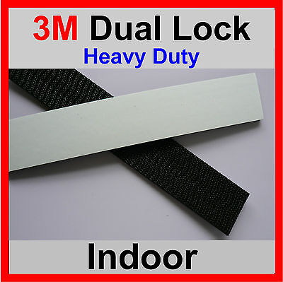 3M DUAL LOCK TAPE 5 X STRONGER THAN HOOK And LOOP 320mm x 25mm