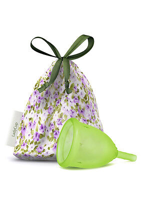 LadyCup Green Size L(arge) - menstrual cup -007