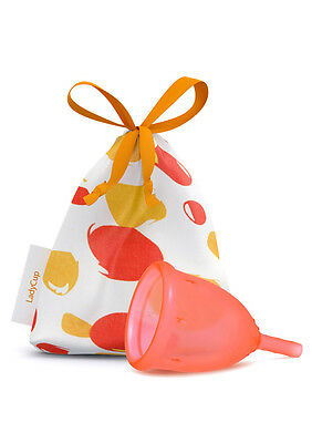 LadyCup Orange Size S(mall) - menstrual cup -010