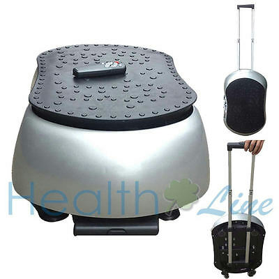 New Portable Mini Crazy Fit Vibration Plate Massage with Telescoping Drawer Bar