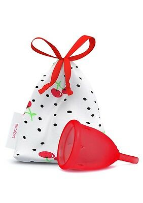LadyCup Wild Cherry Size S(mall) - menstrual cup -032