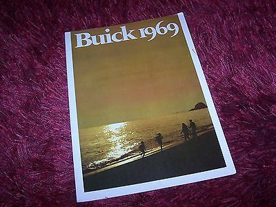 Catalogue / Brochure BUICK Gamme / Full line 1969 USA //