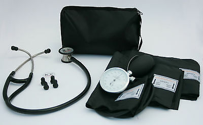 Blood Pressure Sphygmomanometer and Cardiology Stethoscope