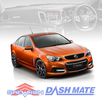 DASH MAT Holden VF Commodore Evoke SV6 SS 06/2013-2017 Charcoal or Black DM1321