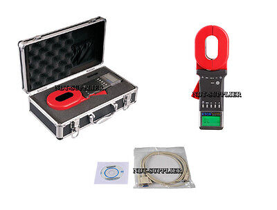 New ETCR2000+ Clamp Ground Earth Resistance Tester Meter w/ RS232  0.01-1200Ω