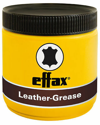 Effax Leather Grease Black - 500ml Horse/Pony Tack Cleaning