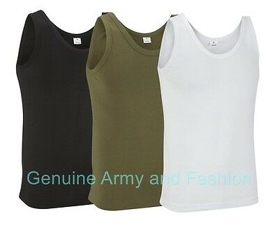 Velocitee Mens Vest US American Army Military Soldier Eagle A21017