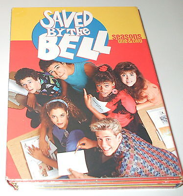 Saved By the Bell - Seasons 1 & 2 (DVD, 2003, 5-Discs) FS