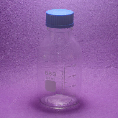 500mL Reagent bottle with cap autoclavable, heavy wall,lab glassware
