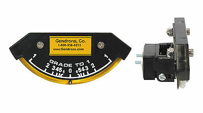 Grade-To-1 Slope Meter Indicator, For Dozer Grader,caterpillar,john Deere,cat