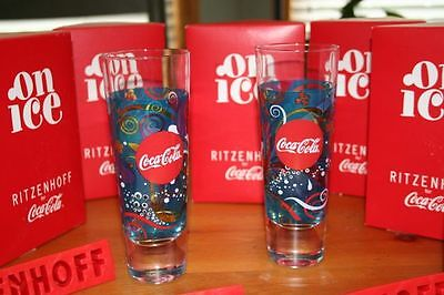 collectable coca cola glasses