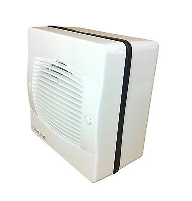 "Window Extractor Fan 4"" / 6"" Basic, Timer, Pullcord & Humidity versions"