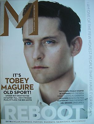 TOBEY MAGUIRE Spring 2013 M Magazine A$AP ROCKY  THE GREAT GATSBY   BUZZFEED