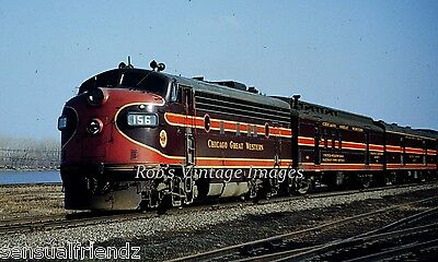 Chicago Great Western CGW Mill City Limited CNW Railroad Poster
