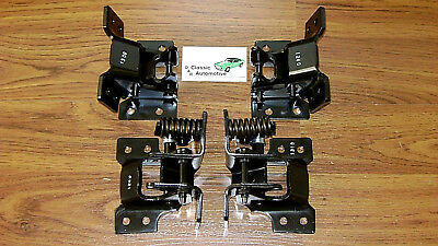 Camaro Firebird Nova Door Hinge Kit 68 69 4pc Upper and Lower set of hinges