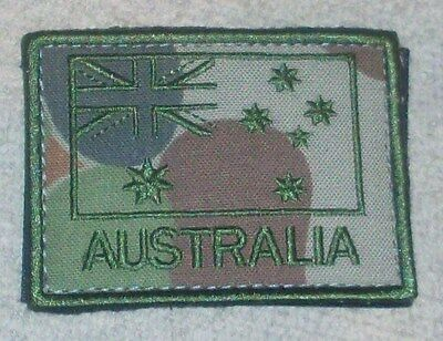 Flag Patch Australian Army Subdued Green On Camo Coloured #2
