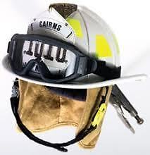New Carins 1010 Helment with goggles attached.