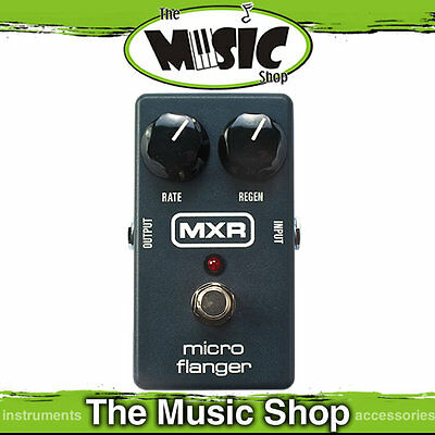 New MXR M152 Micro Flanger Effects Pedal