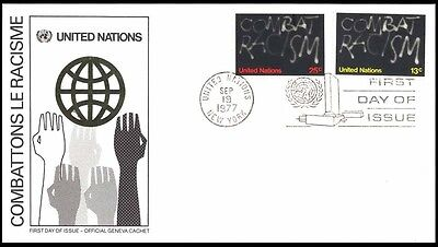 1977 UNITED NATION HANDS COVER 192