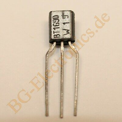 5 x BT169D Thyristors logic level Philips TO-92 5pcs