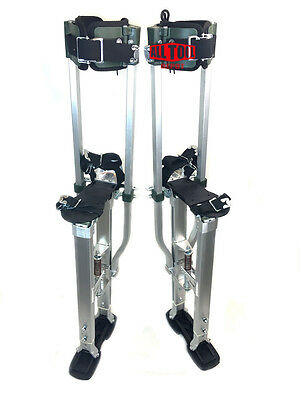 "SurPro S2 Interlok ""Dually"" Aluminum Drywall Stilts 18-23 in (SUR-S2-1830AP)"