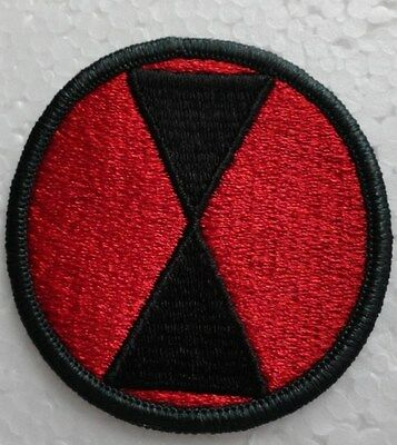 Army 7th Infantry Division Patch - New