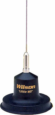 CB RADIO MAGNETIC ANTENNA WILSON LITTLE WIIL 1/4 WAVE 300 WATTS 27mHZ