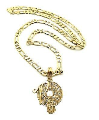 Jewelry & Watches Fashion Jewelry New Hip Hop Iced Out Freemason Pendant w/5mm 24 Figaro Chain Necklace FMSP382