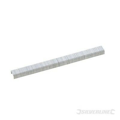 Silverline Tackerklammern, Typ 140, 5000er-Pckg. 10,5 x 12 mm