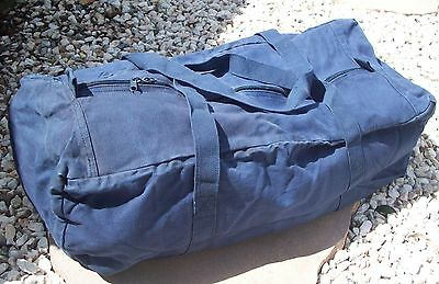 "Blue Carry Bag Cadets 30"" - Sports Bag Canvas New"