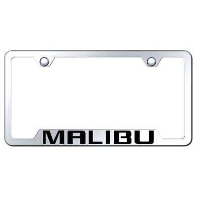 Chevy Impala Laser Etched Stainless Steel License Plate Frame XXXLF-IMP-EC