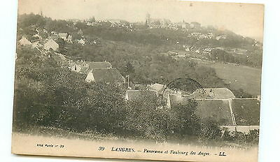 52* LANGRES faubourg des anges