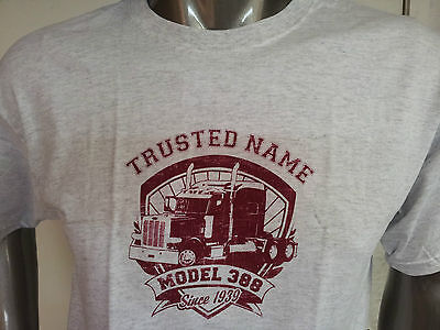 peterbilt new t-shirt trusted name