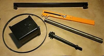 "Riser Block kit or Height attachment Delta 14"" Bandsaw w/1"" round post Delta 894"