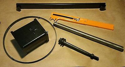 "Riser Block kit,Height attachment Delta 14"" Bandsaw w/1"" round post Delta 894"